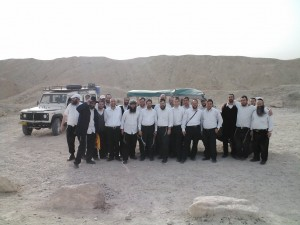 Haredi teachers explore Dead Sea